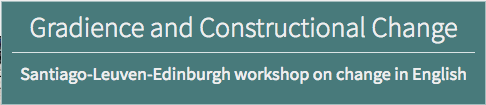 Gradience and Constructional Change Workshop